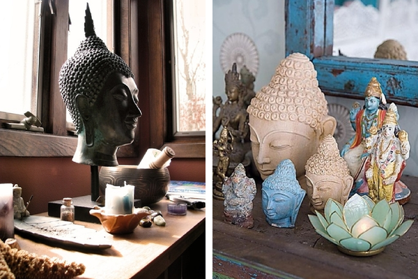 Buddha Inspired Meditation Spaces In My Sacred Space