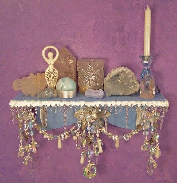 Pagan Home Decor: Create Your Own Altar » In My Sacred Space