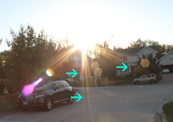 geometric-lens-flare